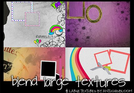 Digital Scrapbook Textures