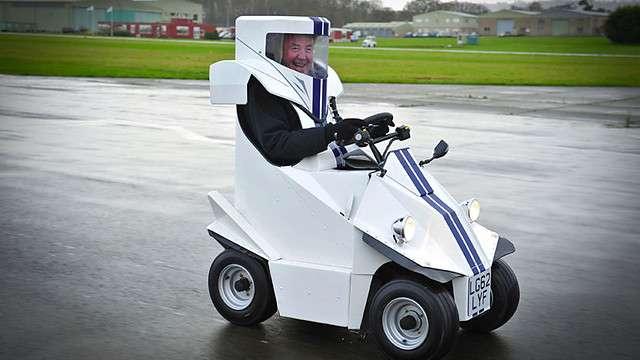 Noticias Curiosas P45 el coche mas pequeño del mundo