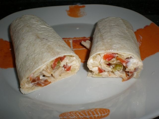 o6la - Fajitas de pollo y verdura