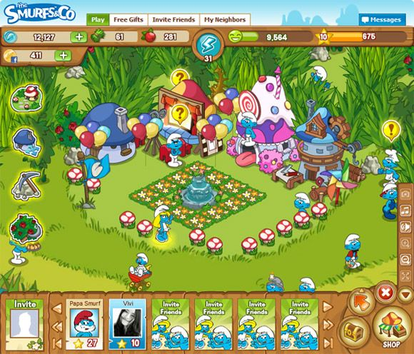 thesmurfs029211740 The Smurfs & Co   New Social Network Game