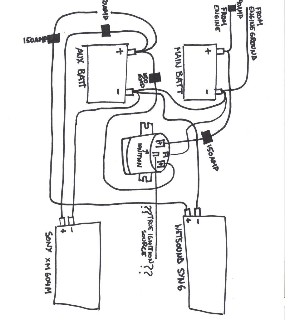 34 Stinger Battery Isolator Wiring Diagram