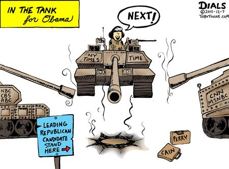 In the tank for Obama
