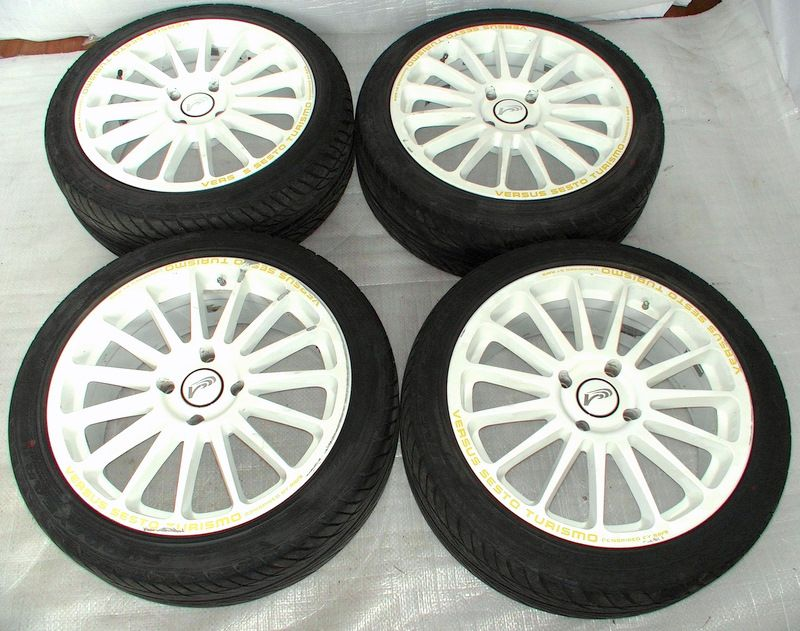 RAYS VERSUS SESTO TURISMO 17 7J Alloy Wheels 4x114,3 S13 180sx 2