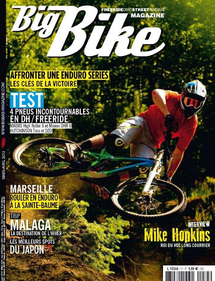 Big Bike N°77 Mars Avril 2013