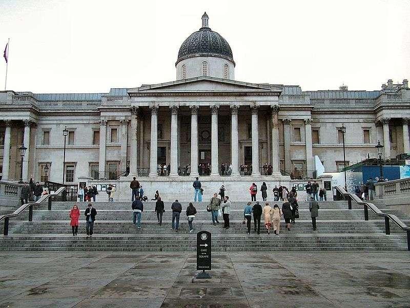 National Gallery | Londra – Trafalgar Meydanı'nda Bulunan 1824 Yılında Kurulan, 2300′den Fazla ..