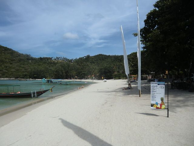der Strand Thong Nai Tan Yai rechtsseitig